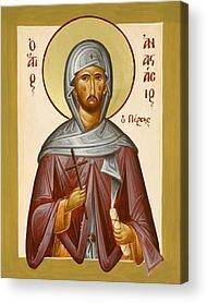 Saint Anastasios The Persian Acrylic Prints
