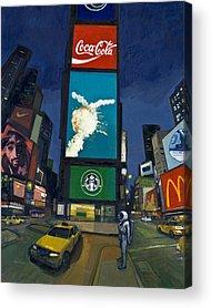 Coke Acrylic Prints