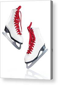 Ice Skating Acrylic Prints