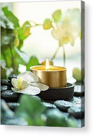 Candles Acrylic Prints