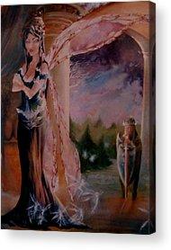 Tamlin Fairy Queen Poem Acrylic Prints
