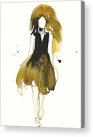Loose Style Drawings Acrylic Prints