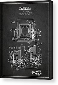 Camera Patent Acrylic Prints