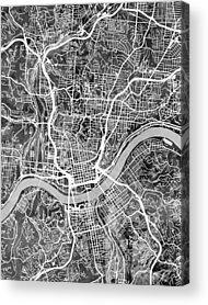 Cincinnati Acrylic Prints