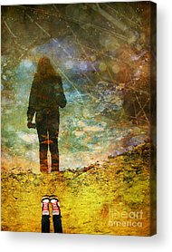 Puddle Acrylic Prints
