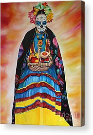 Mexicano Paintings Acrylic Prints