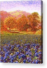 Blueberry Acrylic Prints