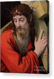 The Wooden Cross Acrylic Prints