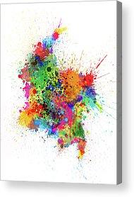 Colombia Acrylic Prints