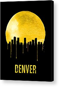 Denver Skyline Acrylic Prints