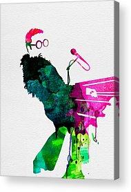Jazz-funk Acrylic Prints