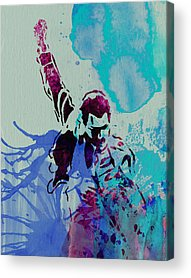 Queen Paintings Acrylic Prints