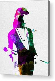 Freddie Mercury Acrylic Prints