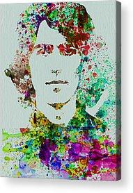 Beatles Mixed Media Acrylic Prints
