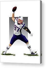All-star Game Acrylic Prints