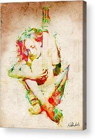 Embrace Digital Art Acrylic Prints