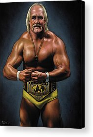 World Wrestling Federation Acrylic Prints