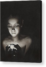Black Paintings Acrylic Prints