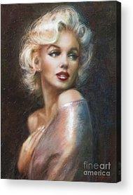 Blond Acrylic Prints