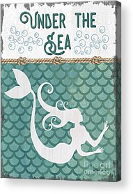 Mermaid Tail Acrylic Prints