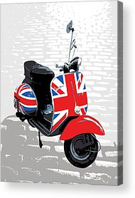 Scooters Acrylic Prints