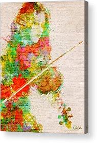 Fiddle Acrylic Prints
