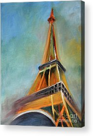 Eiffel Tower Acrylic Prints