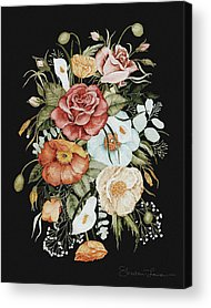 Wild Flowers Acrylic Prints