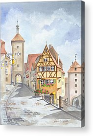 Germany Acrylic Prints