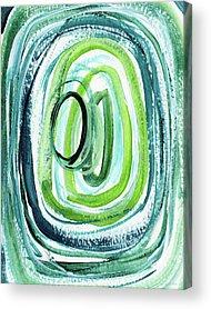 Puddle Mixed Media Acrylic Prints