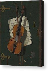 Violin Acrylic Prints
