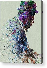 Saxophone Acrylic Prints