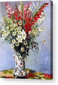 Lily Of France Paintings Acrylic Prints