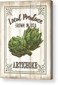 Artichoke Acrylic Prints