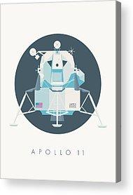 Lunar Module Acrylic Prints