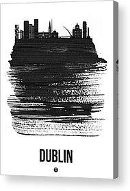 Dublin Mixed Media Acrylic Prints
