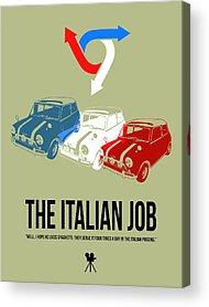 Italian Actress Acrylic Prints