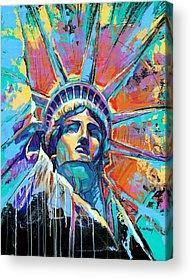 Statue Of Liberty Acrylic Prints