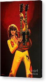 Jimmy Page Acrylic Prints