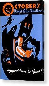 Haunted Schools Acrylic Prints