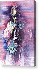 Trumpeters Acrylic Prints