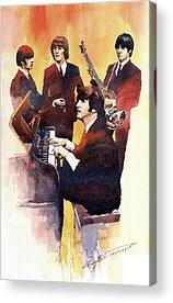 Ringo Starr Acrylic Prints
