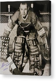 Goaltender Acrylic Prints