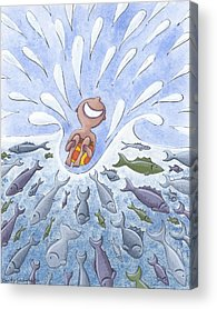 Whimsical Beach Acrylic Prints