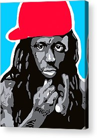 Tunechi Paintings Acrylic Prints