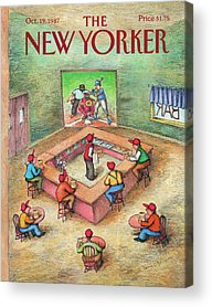 Designs Similar to New Yorker October 19th, 1987