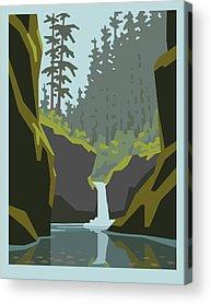 Waterfall Acrylic Prints