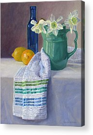 Old Pitcher Paintings Acrylic Prints