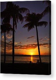 Southwest Florida Sunset Acrylic Prints