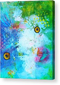 Artistic Fish Abstraction Acrylic Prints